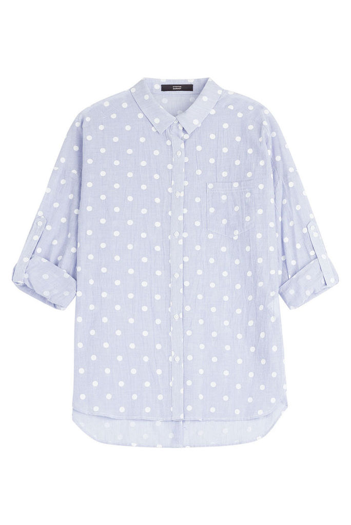 Steffen Schraut Summer Dot Striped Shirt