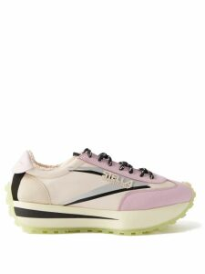 See By Chloé - City High Rise Tailored Trousers - Womens - Beige