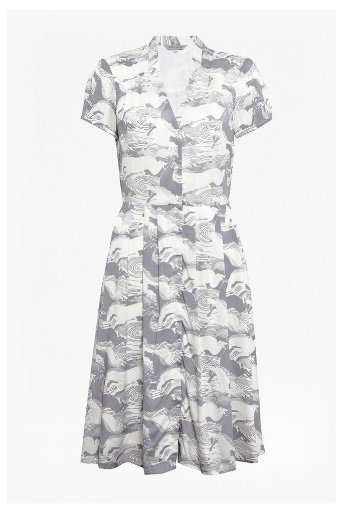 Carousel Shirt Dress