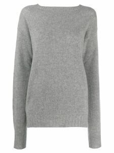 Prada cashmere boat neck sweater - Grey