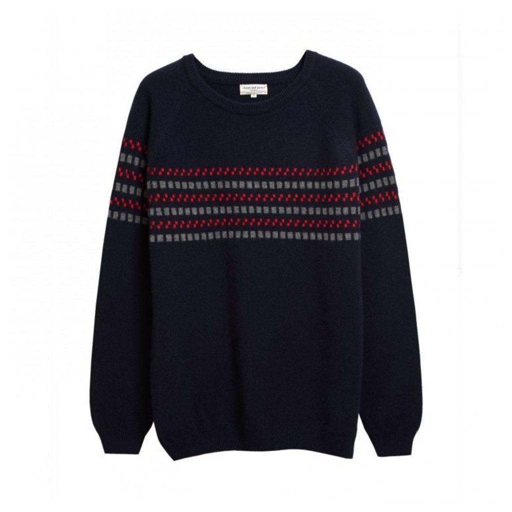 Men's Checkerboard Sweater