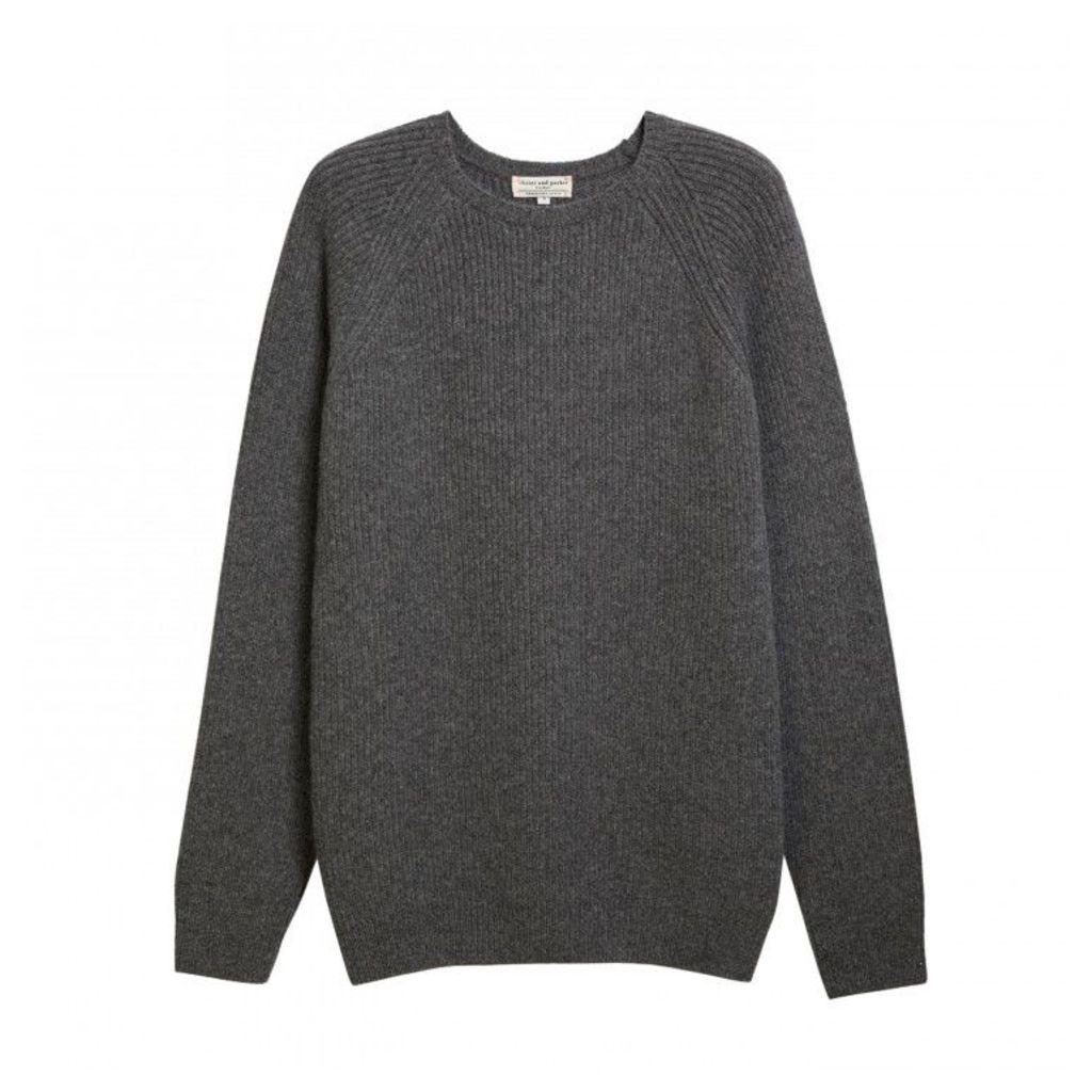Men's Rib Crew Neck Sweater