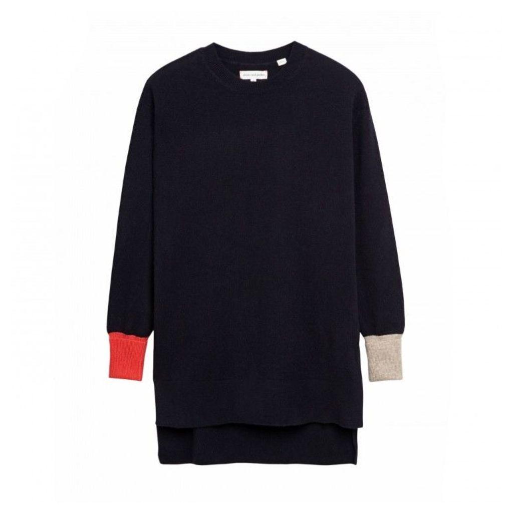 Block Cuff Sweater