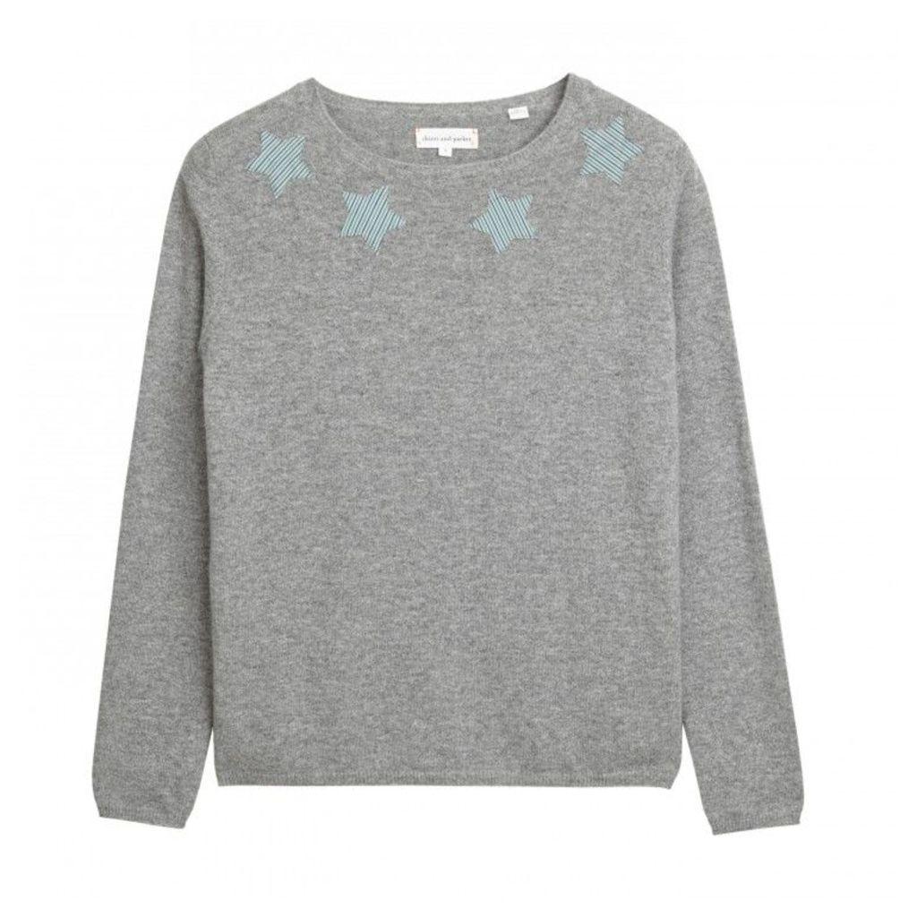 Stripe Star Sweater