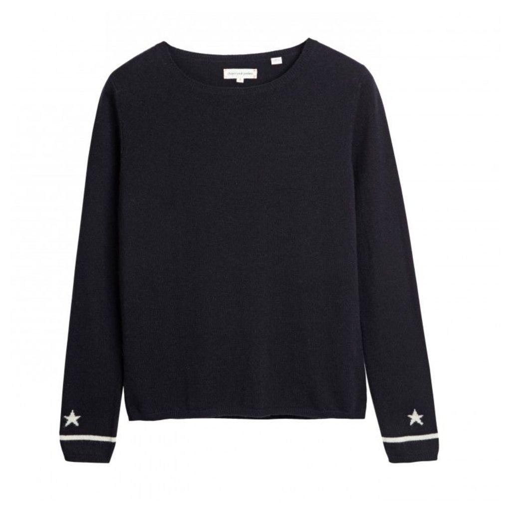 Star Cuff Sweater