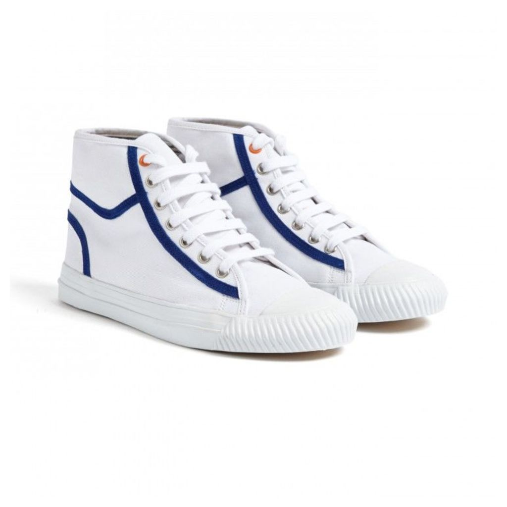 NEW Contrast Trim High-Top Trainers