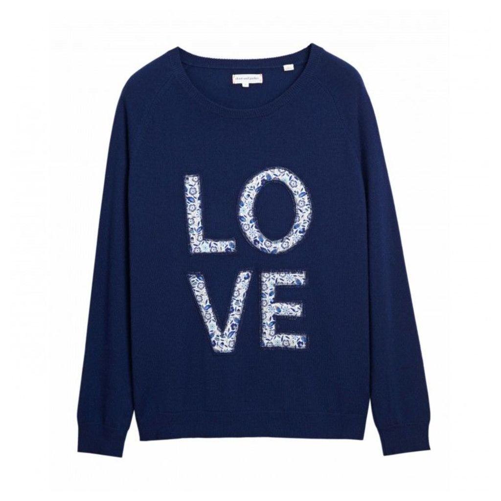 Liberty Love Applique Sweater