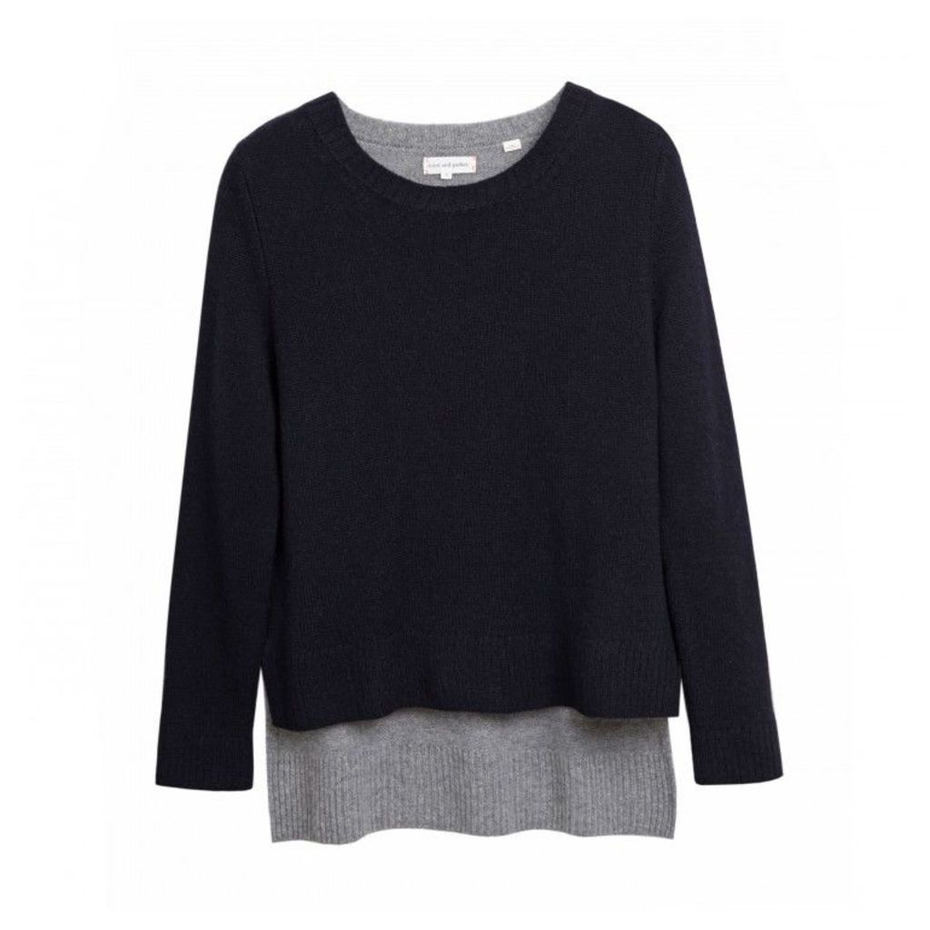 Long Back Sweater