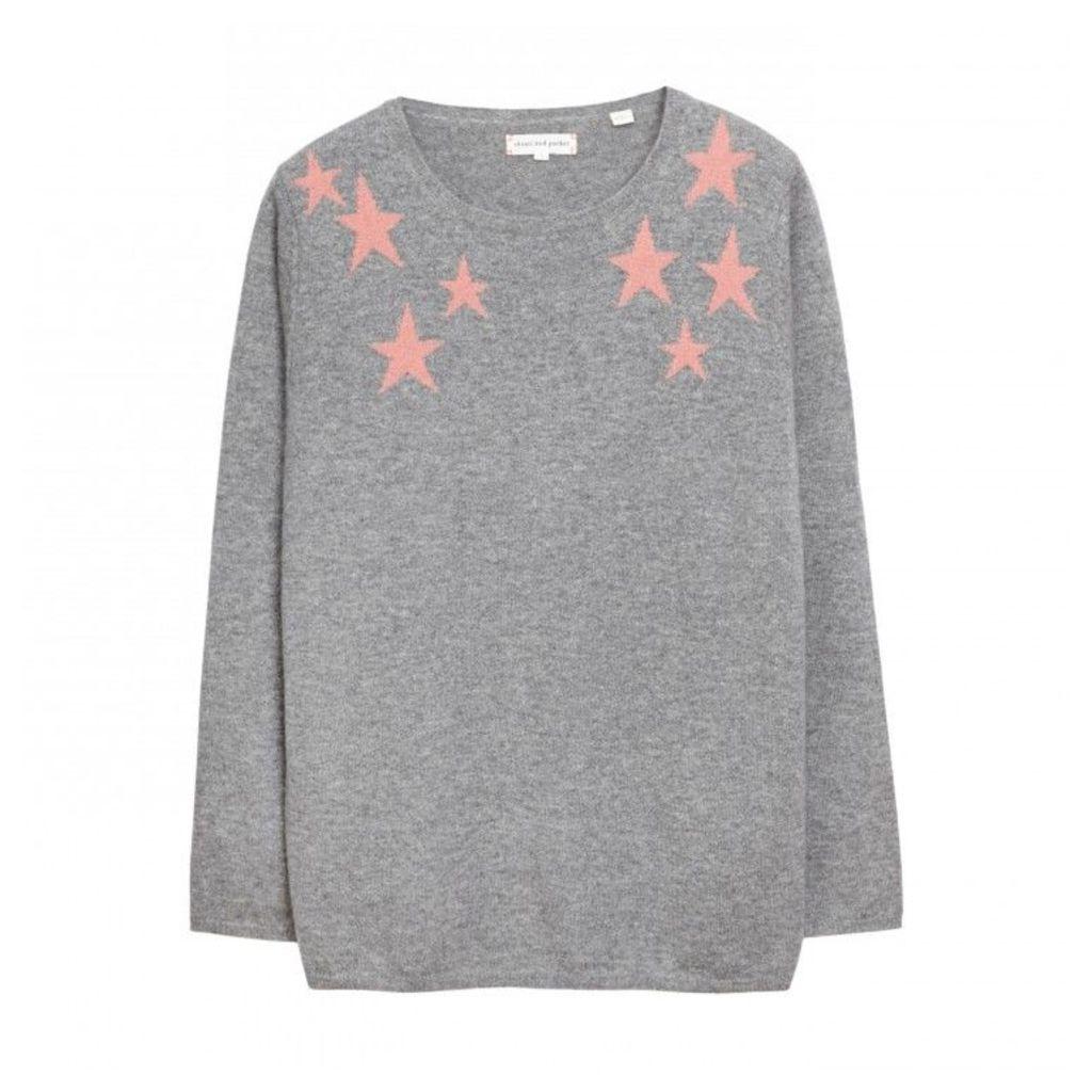 Shoulder Star Sweater