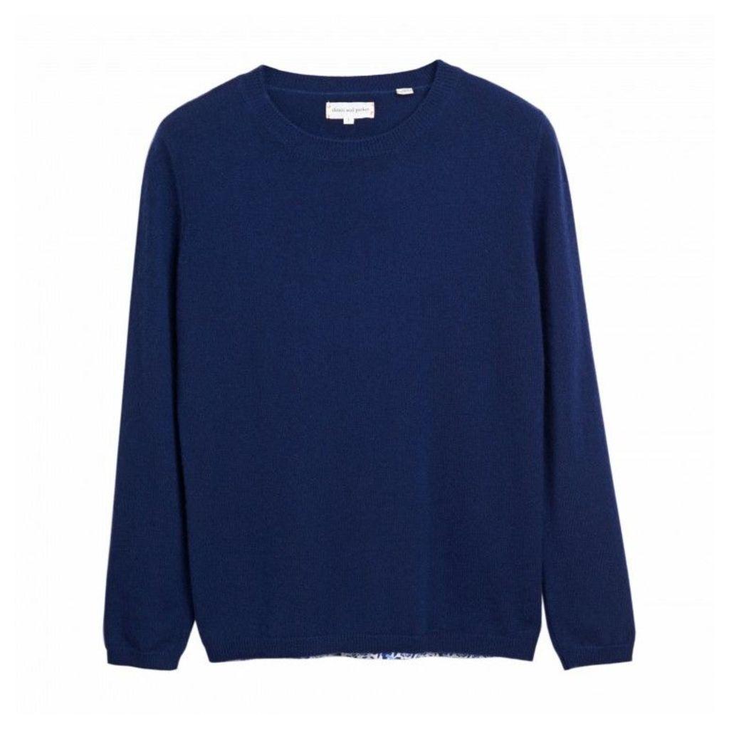 Liberty Woven Back Sweater