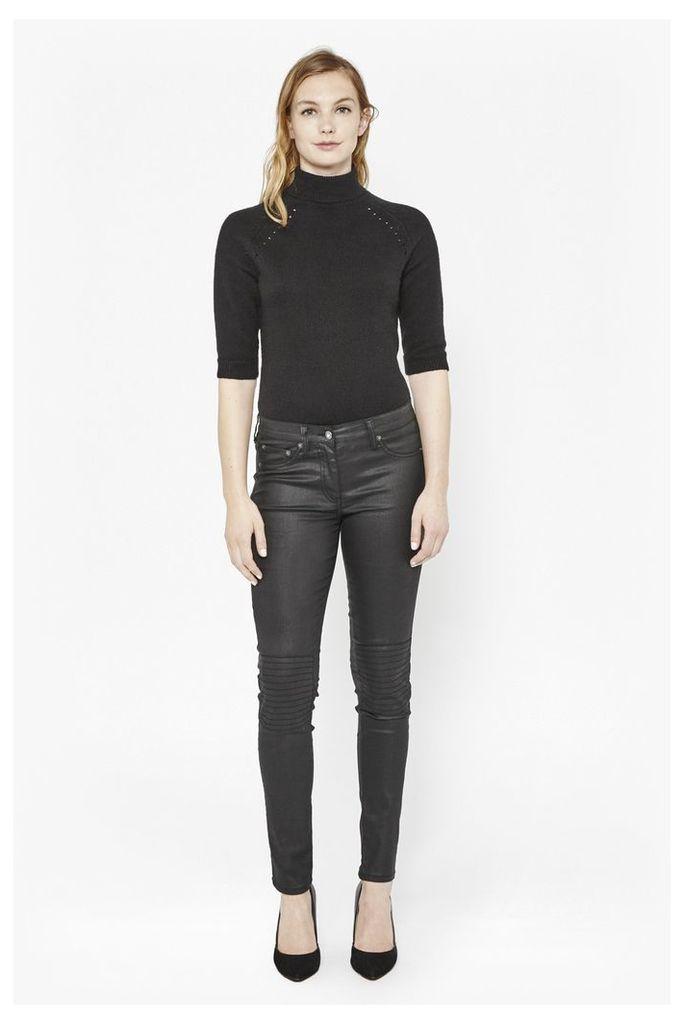 Blitz Coated Skinny Jeans