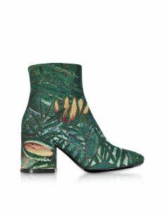 Kenzo Designer Shoes, Tapestry Jacquard Daria Boots