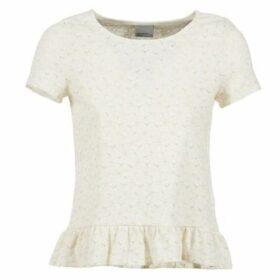 Vero Moda  JAPANIA TOP  women's T shirt in White