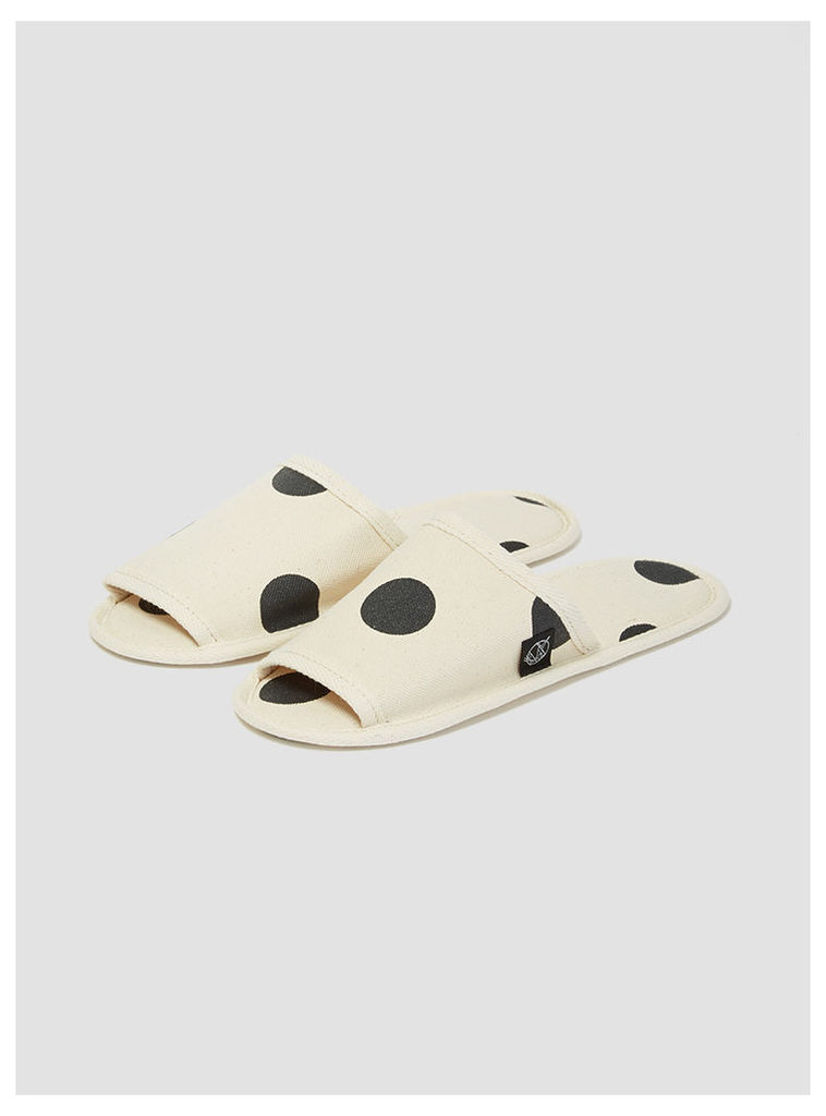 Hanelca Canvas Slippers with Bag Dots Womenswear