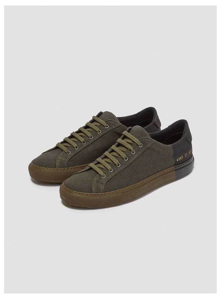 Common Projects x 6397 Sneakers Army & Black Womenswear