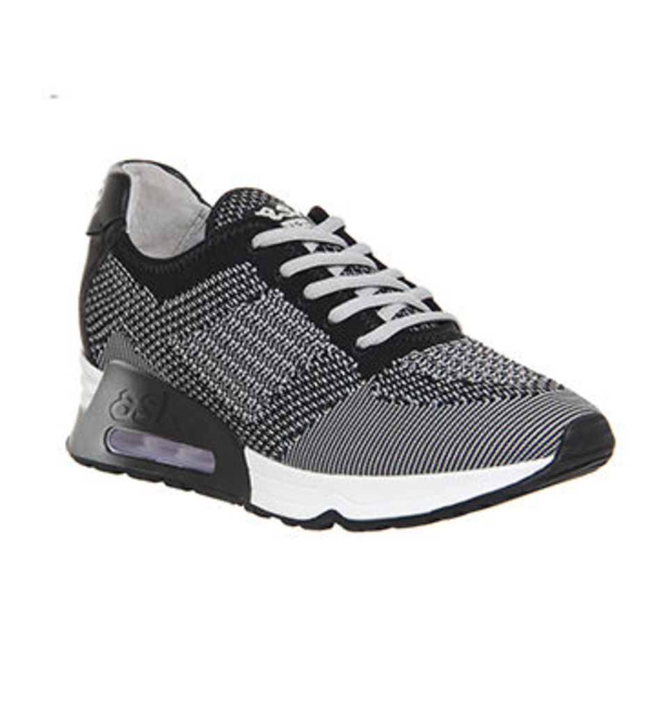 Ash Lucky Sneaker MARBLE KNIT LEATHER