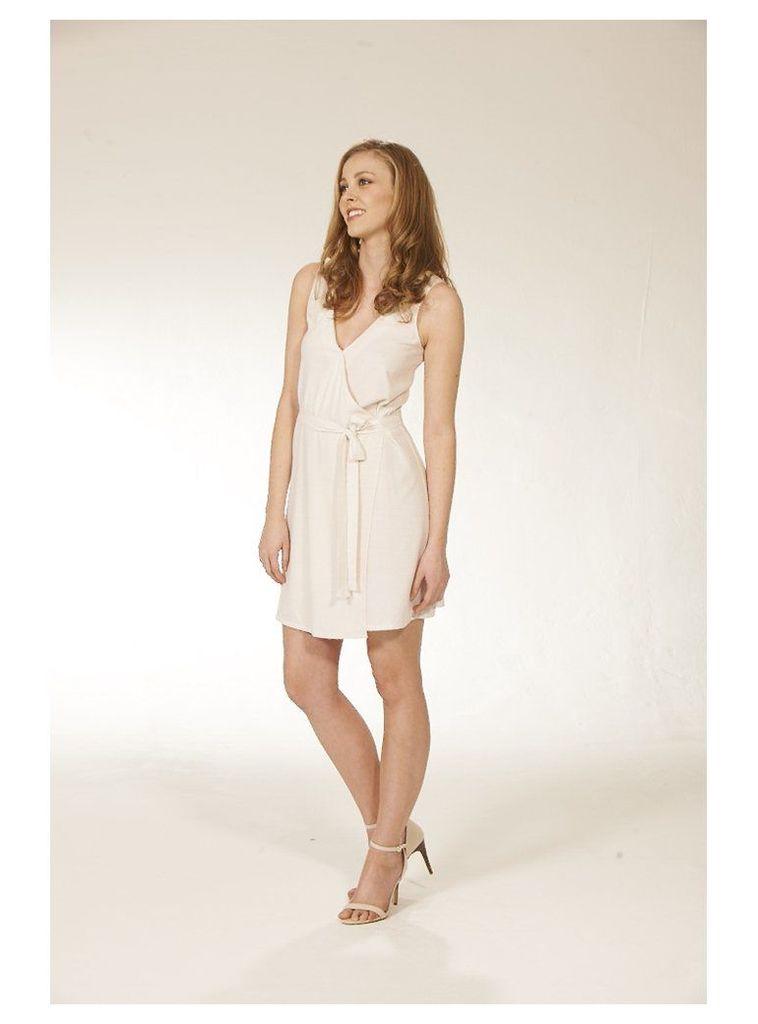 Printed Wrap Dress - 6