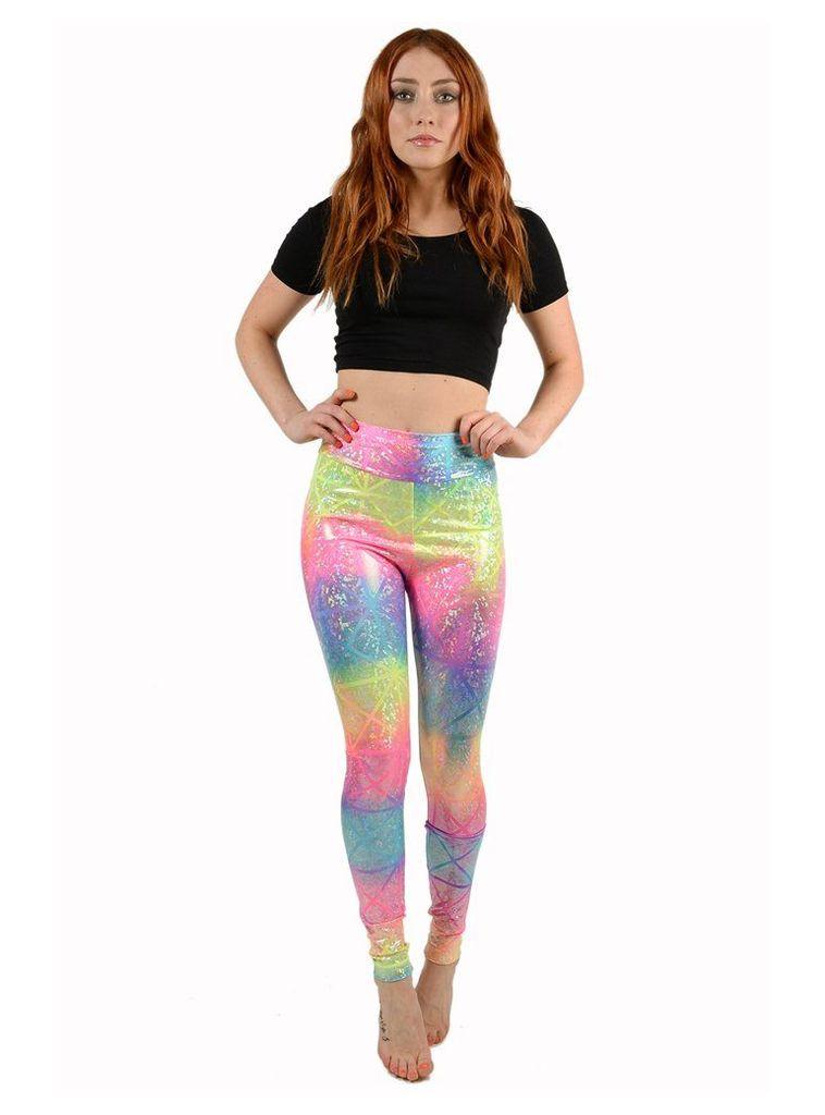 Rainbow Diamond Leggings - M/L