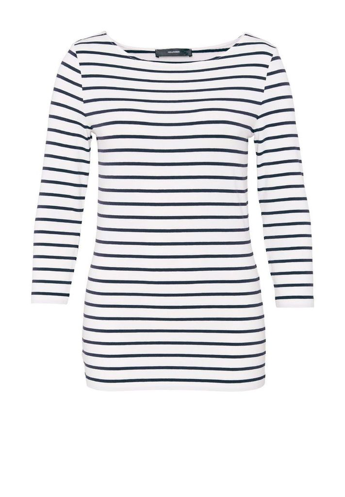 Hallhuber Stripe Top, Blue