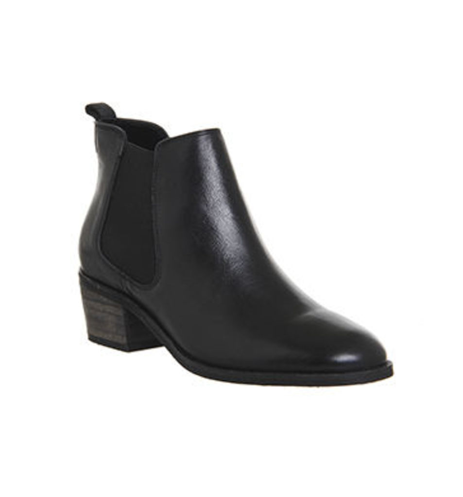 Office Jenkins Chelsea Boot BLACK LEATHER