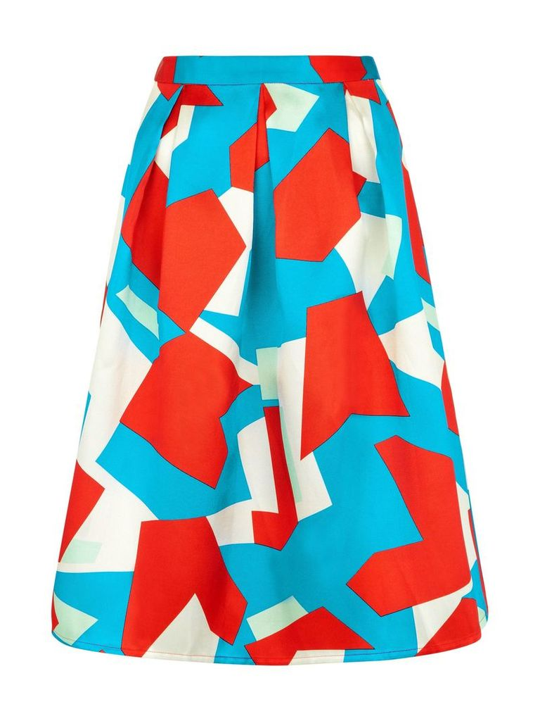 Traffic People Harlequin of Harlem - Prom Skirt, Multi-Coloured