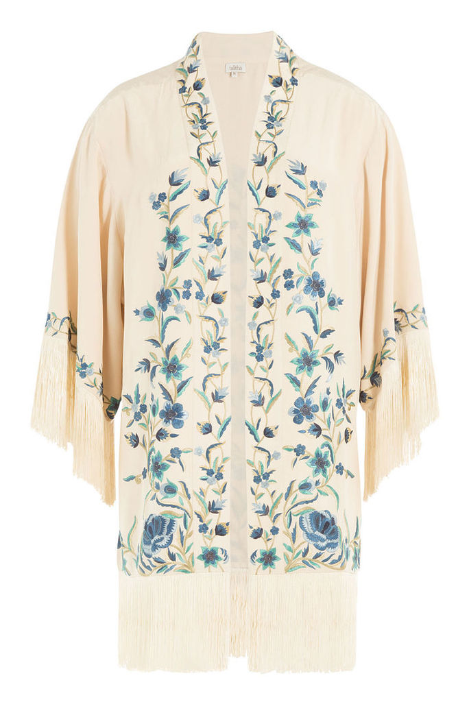 Talitha Embroidered Silk Jacket