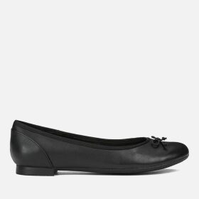 Clarks Women's Couture Leather Ballet Flats - Black