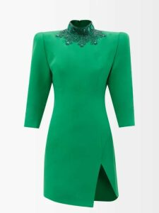 Jean Atelier - Flip Fold-over Denim Shorts - Womens - Grey