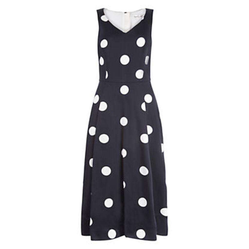 Damsel in a dress Sabrina Dress, Black/Ivory