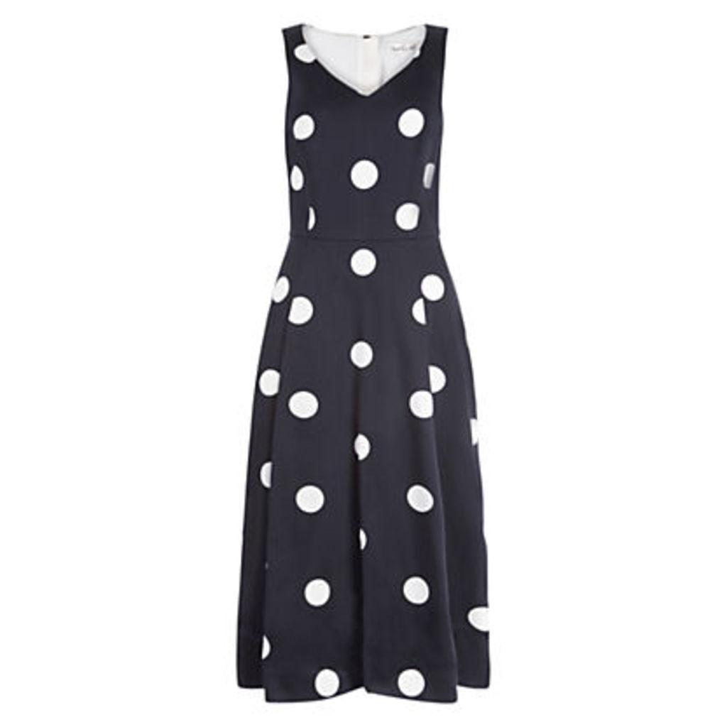 Damsel in a dress Sabrina Dress, Black/Ivory
