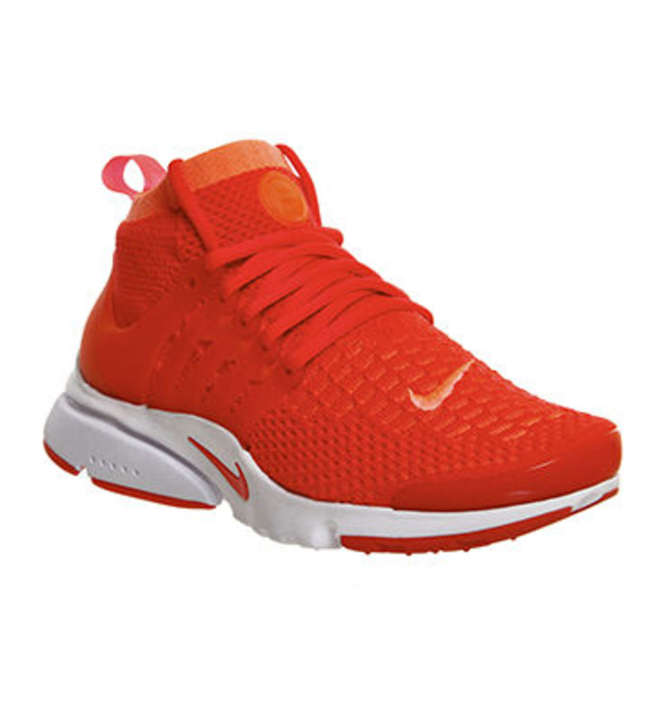 Nike Air Presto Flyknit Ultra W BRIGHT MANGO BRIGHT CRIMSON
