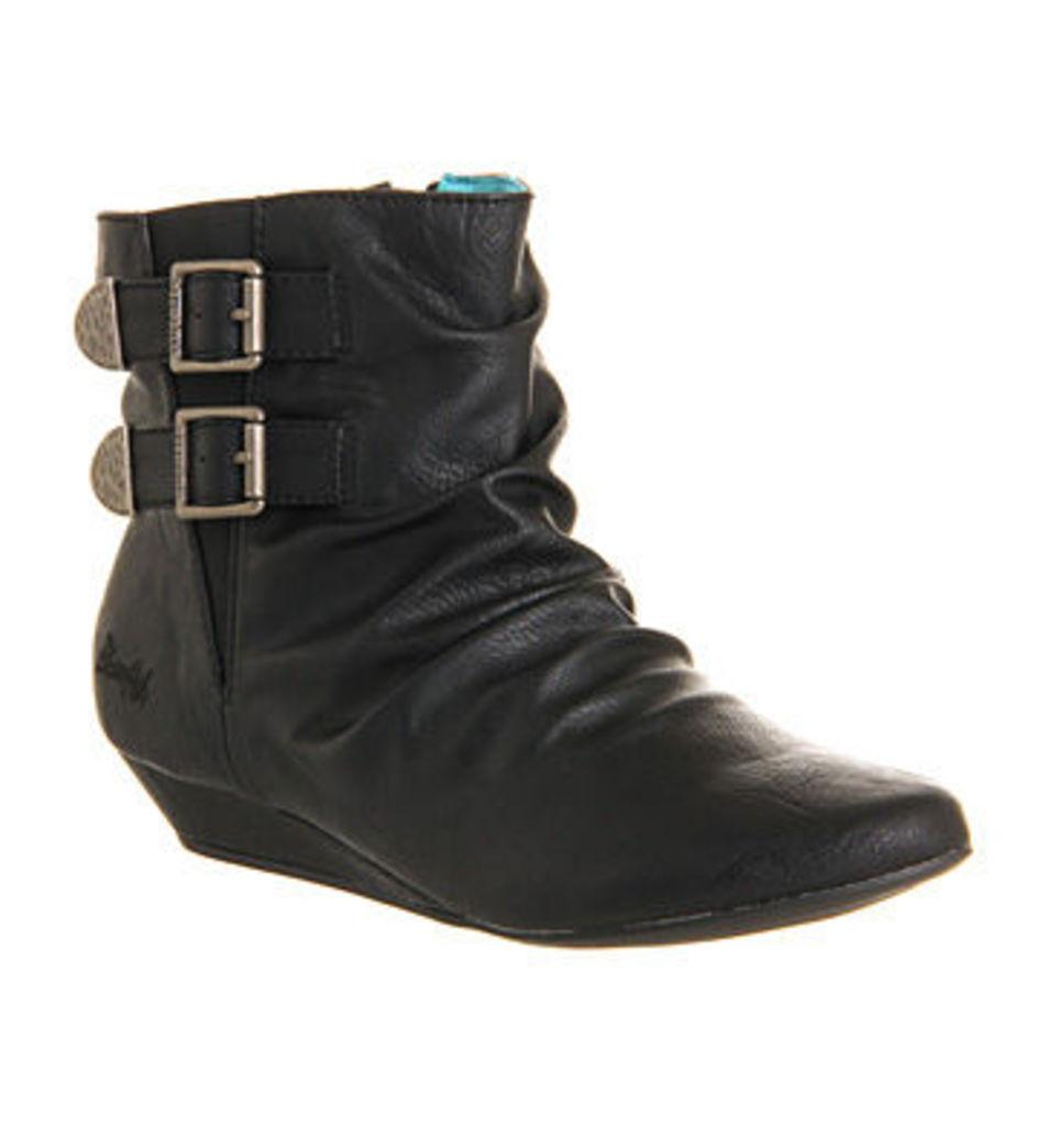 Blowfish Ginnifer Ankle boots BLACK OLD SADDLE