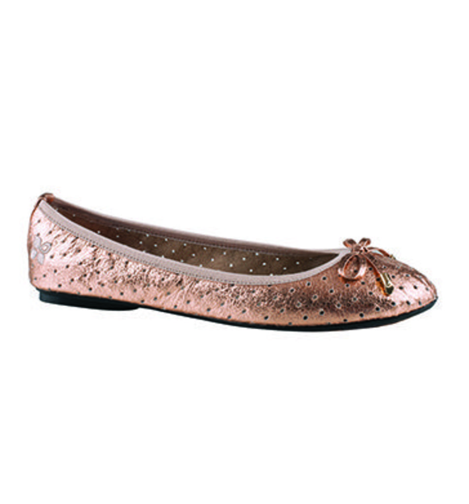 Butterfly Twists Grace Pump METALLIC ROSE GOLD