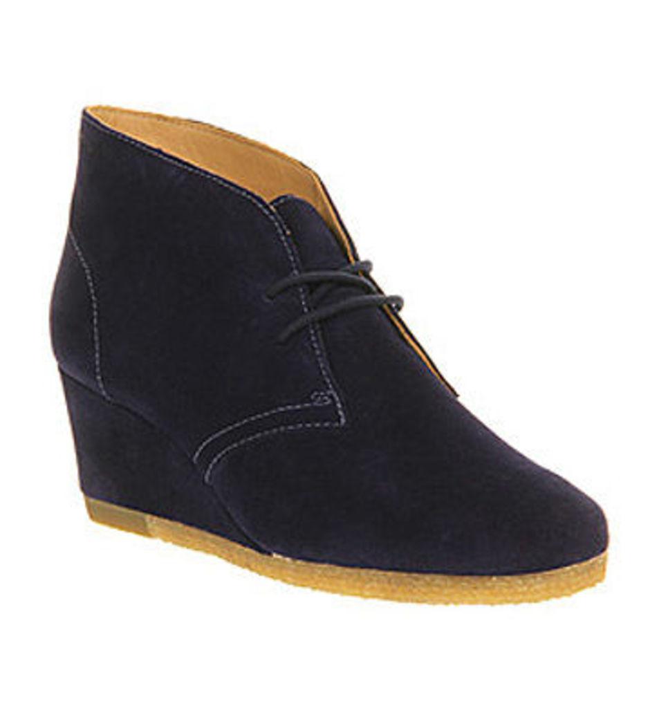 Clarks Originals Yarra Desert Boot DARK BLUE SUEDE