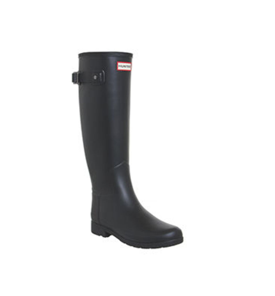 Hunter Original Refined Welly BLACK
