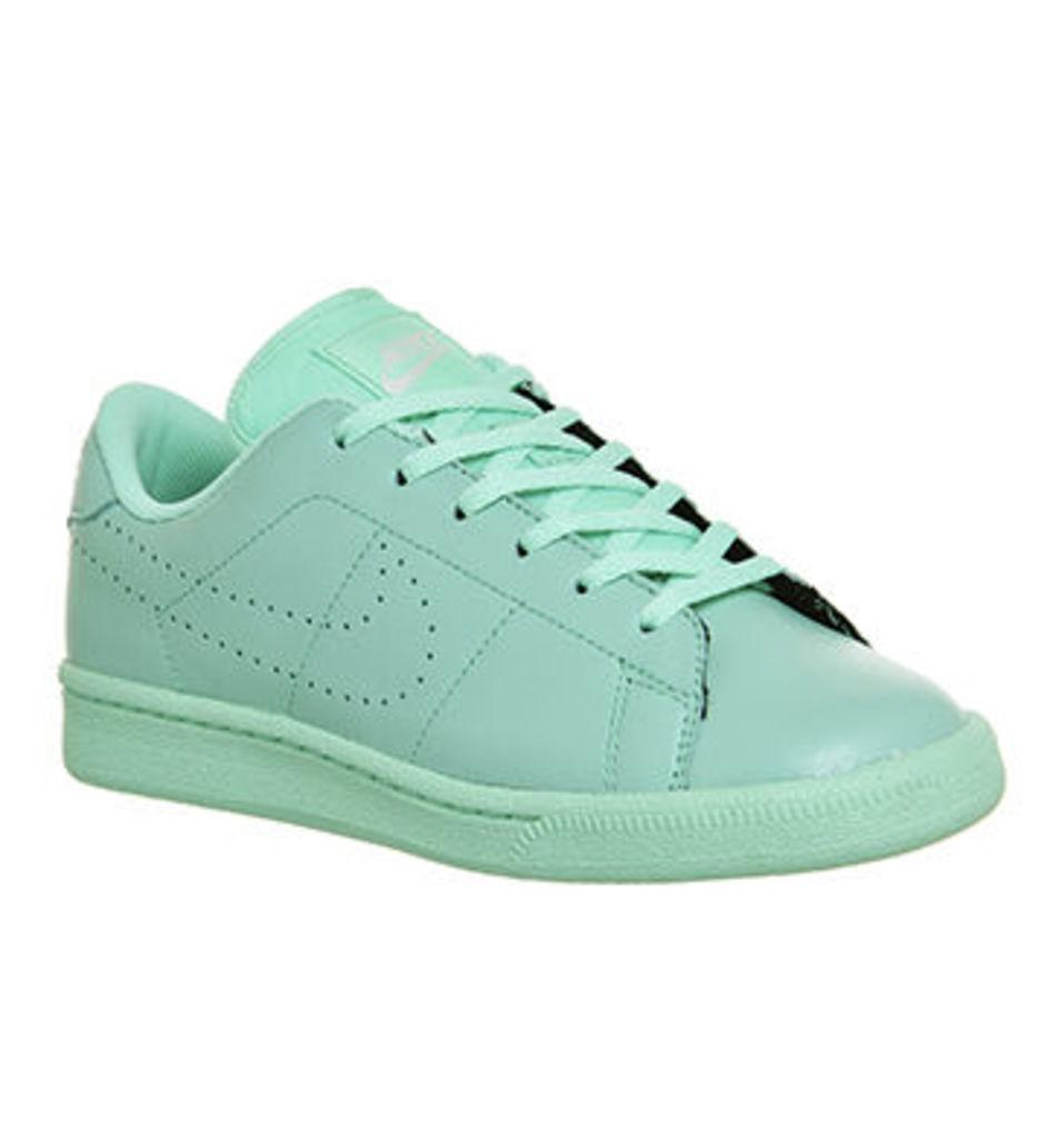 Nike Tennis Classic Gs GREEN GLOW