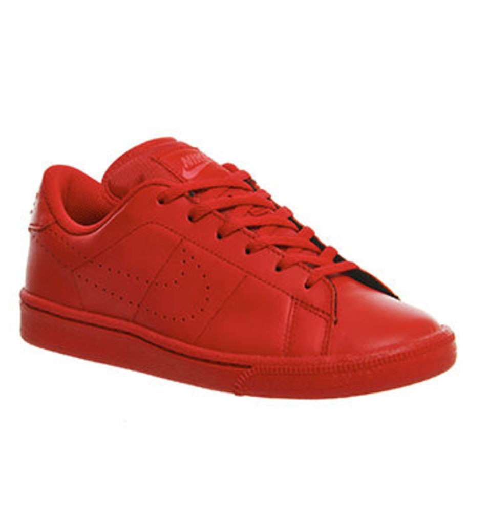 Nike Tennis Classic Gs UNIVERSITY RED