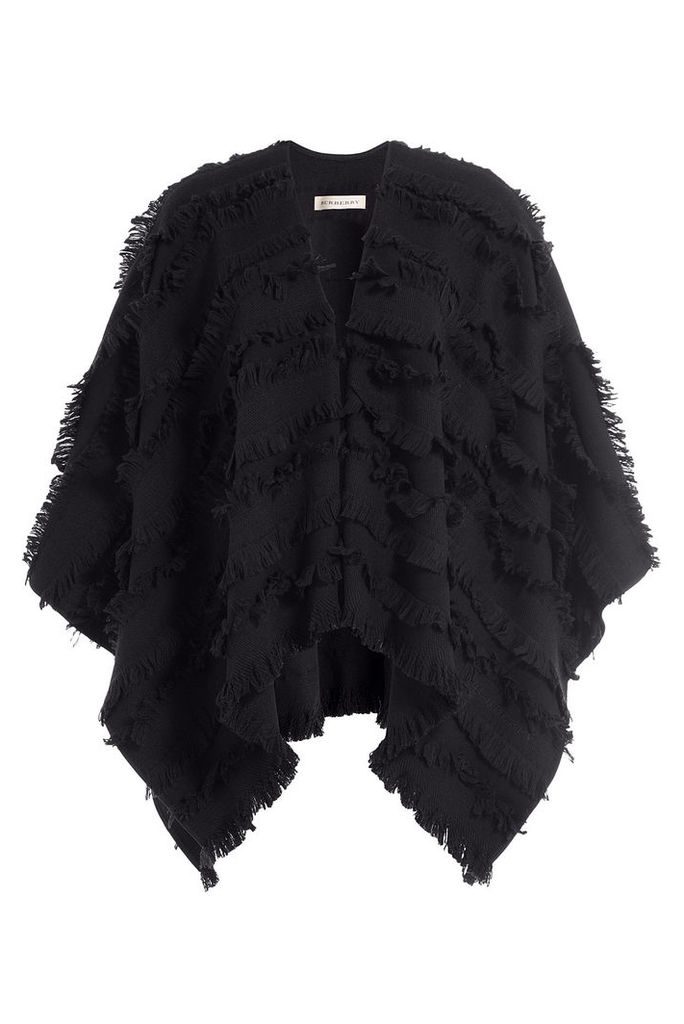 Burberry Wool/Cashmere Cape