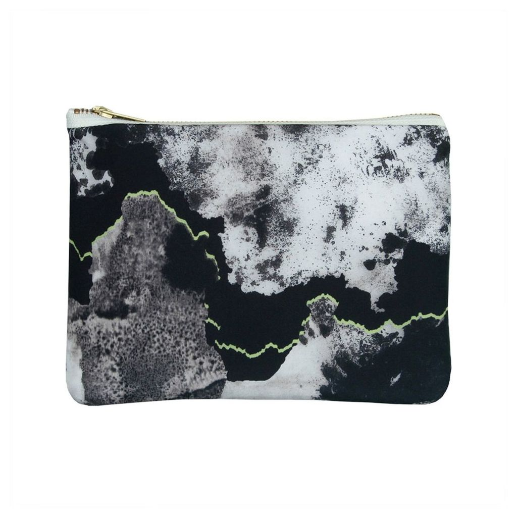 Samantha Warren London - Elin Silk & Leather Clutch Bag