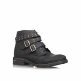 Womens Search Ankle Boots Kg Kurt Geiger Black Flat Black Ankle Boot, 3.5 UK