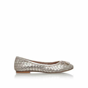 Carvela Luggage - Gold Flat Ballerina Shoes