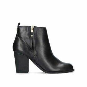 Carvela Tanga - Black Block Heel Ankle Boots