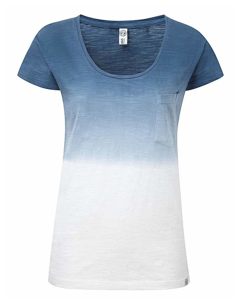 Tog24 Estella Womens Dip Dye T-Shirt