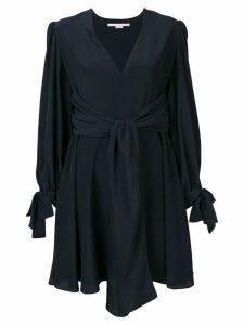 Stella McCartney tied details short dress - Blue