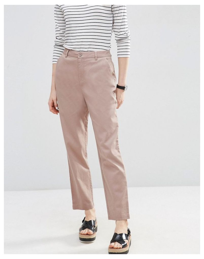 ASOS Chino Trousers - Blush