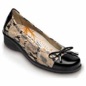 Drucker Calzapedic  CHAROL VIPRA  women's Shoes (Pumps / Ballerinas) in Brown