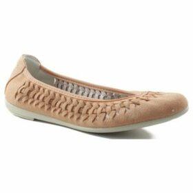 Vulladi  split letinas  women's Shoes (Pumps / Ballerinas) in Pink