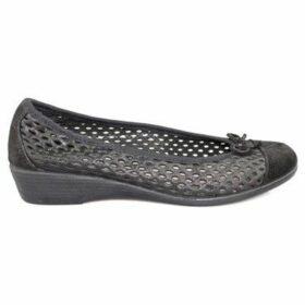 Vulladi  CRAQUELE  women's Shoes (Pumps / Ballerinas) in Black