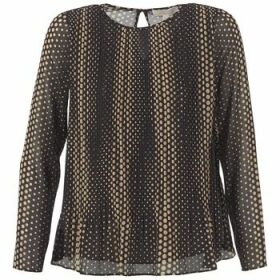 MICHAEL Michael Kors  OMBOBO  women's Blouse in Black