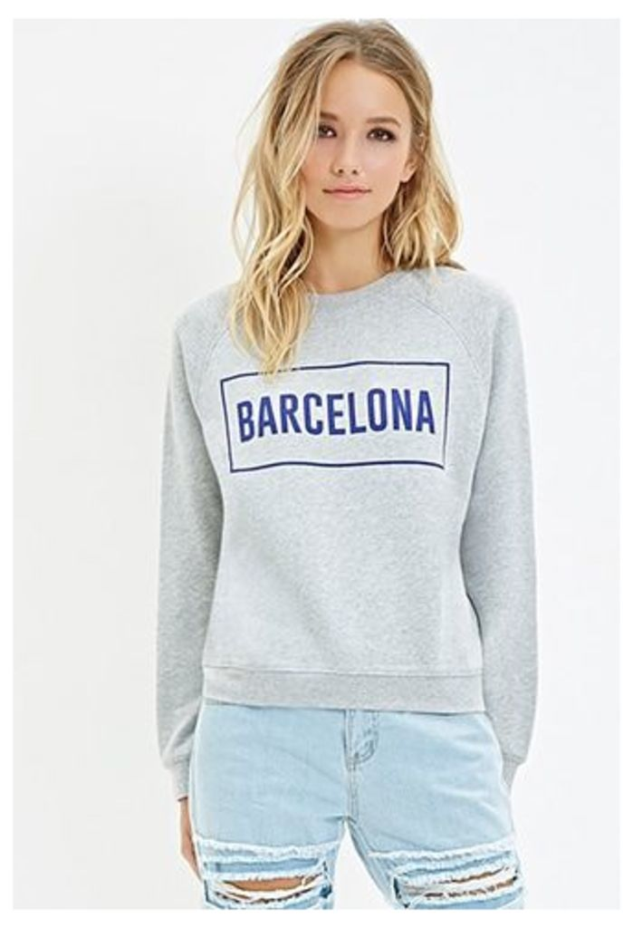 Barcelona Raglan Sweatshirt